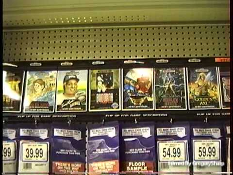 Sega Genesis Aisle at Toys R Us 1990