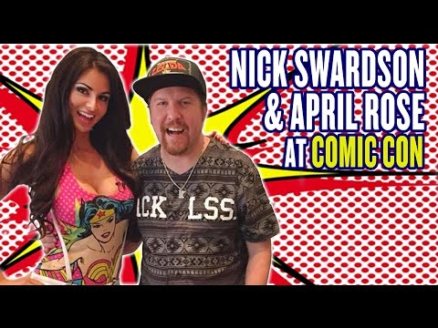Nick Swardson on Tasty Trends with April Rose  The April Rose Files