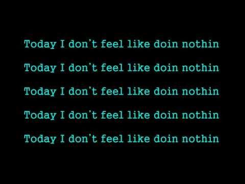 Kid Ink ft Sean Brown - Doin Nothing (lyrics on screen)