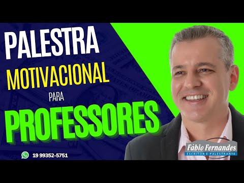 Palestra para Professores, Educação Pós-pandemia, Saúde Emocional | Ensino Híbrido - Fabio Fernandes