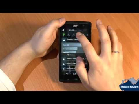 Видеообзор Acer Liquid Z500