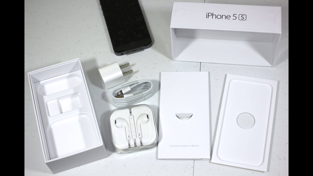 Iphone 5s Unboxing First Look Space Gray 32gb Youtube Apple Se Grey