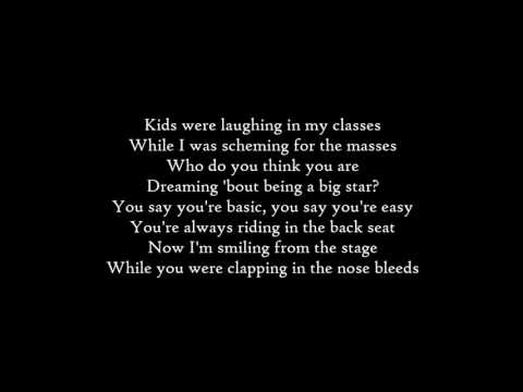 Imagine Dragons - Thunder - Lyrics