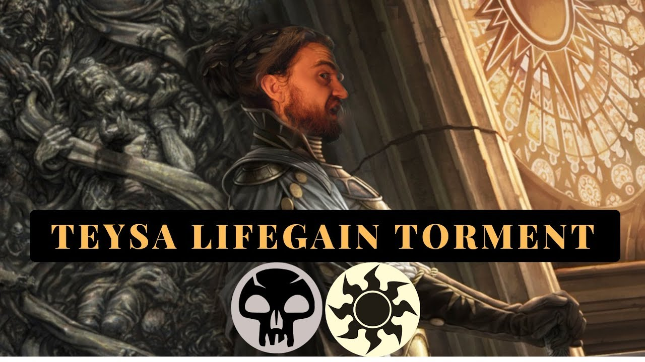 Big Lifegain Big Tokens Teysa Orzhov Standard Mtg Arena Deck Tech And Games Youtube Edh recommendations and strategy content for magic: big lifegain big tokens teysa orzhov standard mtg arena deck tech and games