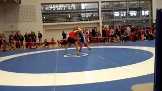 2015 Junior National Championships: 72 kg Georgina Nelthorpe vs. Payten Smith