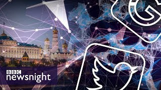 Social media and concerns over 'Russian meddling' in the US election – BBC Newsnight