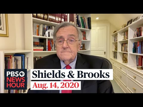 Shields and Brooks on Kamala Harris as VP pick, mail-in voting worries
