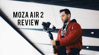 MOZA AIR 2 REVIEW | TEST FOOTAGE