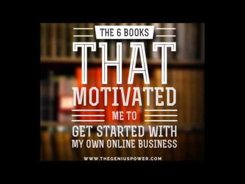 The 6 Books That Got Me Started With My Online Business