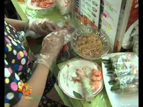 Ăn buffet ở chợ Bến Thành - Vui Sống Mỗi Ngày [VTV3 - 21.06.2012]