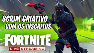 vivre Fortnite CREATIVE SCRIM-PLAYING WITH SUBSCRIBERS!! CODE DE SUPPORTER: Theus #RUMO2K