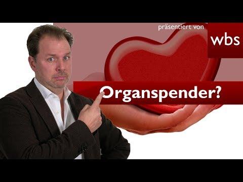 Organspenderausweis - Darum solltest du einen haben | Rechtsanwalt Christian Solmecke