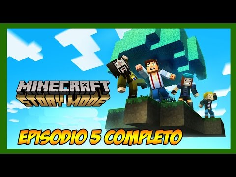 Minecraft: Story Mode - Episódio 5 COMPLETO!! - SKYCITY [Legendado PT-BR]