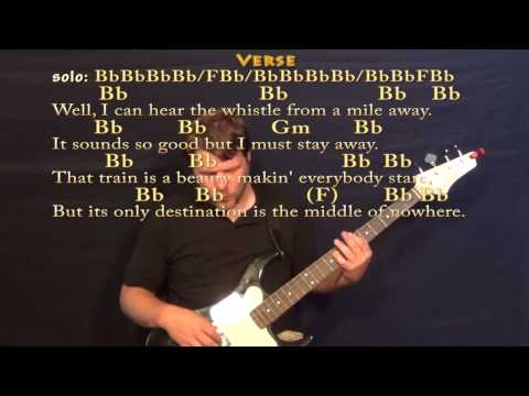 Long Black Train (Josh Turner) Bass Guitar Cover Lesson with Chords / Lyrics