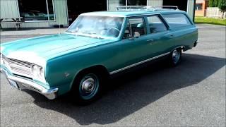 1965 Chevrolet Chevelle 300 Deluxe Wagon