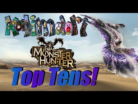 My Top Ten Favorite Monster Hunter Monsters! (Old, link to remake in description)