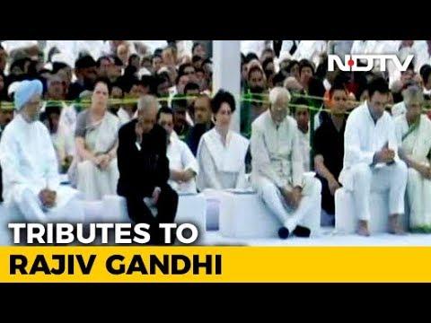 Rahul Gandhi, Priyanka Gandhi Vadra Pay Tribute To Rajiv Gandhi On His Death Anniversary