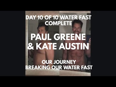 10 days with NO food Before and After... Day 10/10 water fast complete