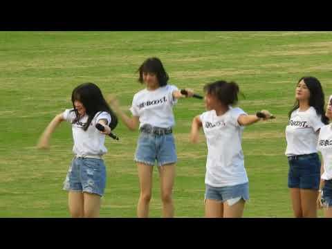 [FANCAM FOCUS Feni ] JKT48 Show in Asian Games, 19-Aug 2018