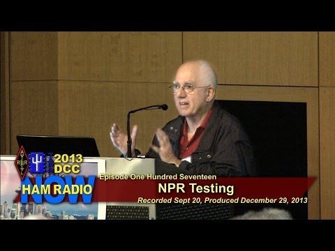 Episode 117 from the DCC: Noise Power Ratio Testing