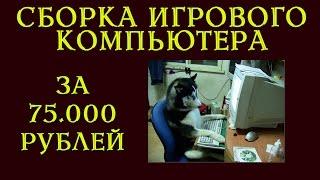 Игровой компьютер за 75000 рублей (2016 год)(Актуальные цены на лучшие видеокарты в твоем городе: ASUS Radeon RX 460 http://s.socialmart.ru/c3_O8zCY1rMSmfH_NZboY1rMZSALXLFY..., 2016-01-28T22:28:49.000Z)