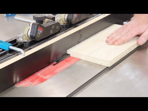 Using A Table Saw To CUT RABBETS // WOODWORKING TIPS