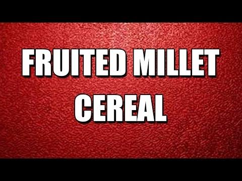Orange Millet Cereal