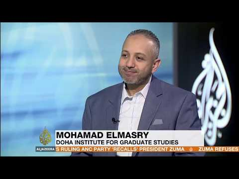 Mohamad Elmasry on Al-Jazeera discussing the arrest of Sami Anan
