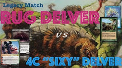 [MTG] Legacy RUG Delver vs 4C Wrenn and Six Delver