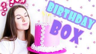 DIY Идеальный ПОДАРОК на День Рождения * Birthday BOX * Bubenitta