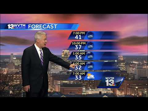 Jerry Tracey's winter weather weekend forecast