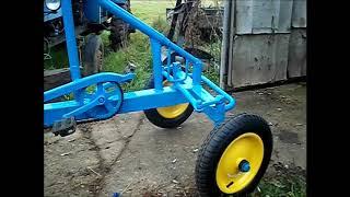 Самодельный веломобиль.(Homemade velomobile.)