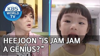 """Heejoon """"Is Jam Jam a genius?"""" [Happy Together/2019.07.18]"""