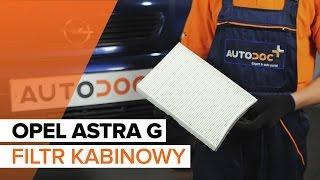 Jak wymienić filtr kabinowy w OPEL ASTRA G TUTORIAL | AUTODOC