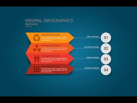 Photoshop Tutorial Graphic Design | Infographic Minimal And Clear