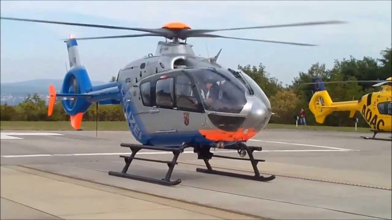40 Jahre Luftrettung Koblenz - Start Sperber 1 (D-HRPA) am ...