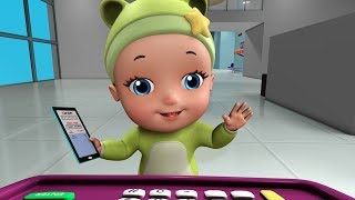 Baby in the Airport Episode | Cartoon Videos for Kids | Infobells Kids Shows