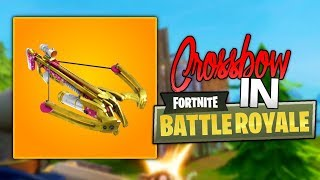 *NEW* CROSSBOW Coming to Fortnite: Battle Royale! (V.2.4.2 Fortnite Patch Notes!)