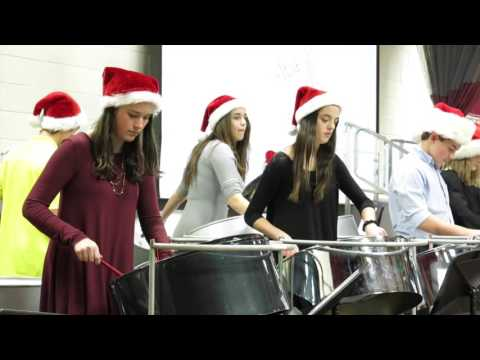 "Foote School Steel Band Performs ""Ain't Nobody"" and ""Cheerleader"""