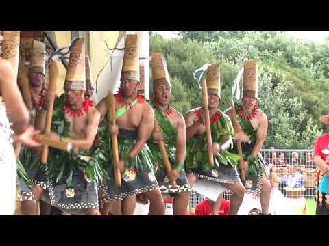 Wesley College War Dance ASB Polyfest 2017 Tongan Stage