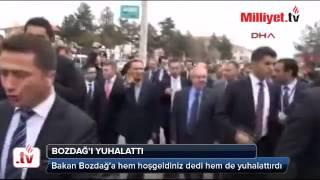 Bakan Bozdağ'ı Böyle Yuhalattırdı şok Görüntüler!