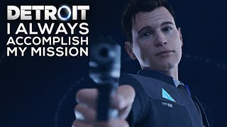 Gambar cover Connor Will Do Everything to Acomplish His Mission (TOUGHEST CONNOR MOMENTS) - DETROIT BECOME HUMAN