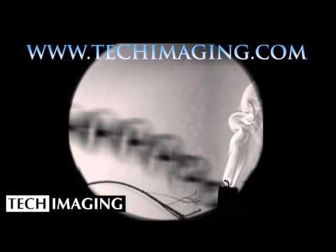 High Speed Camera Video - Whip cracking in schlieren