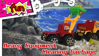 Toys Heavy Equipment Cleaning Garbage by Dolant TV Toys