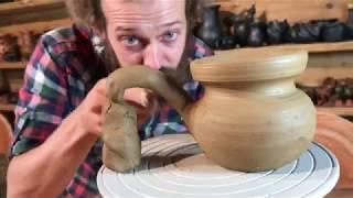 🍯 Как сделать турку своими руками из термоударной глины Волшебство керамики