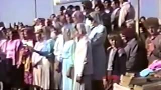 Водное крещение 6 августа 1989 г  в Ровенской обл