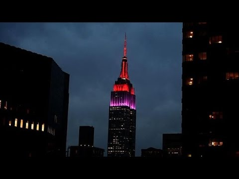 NY's Empire State lights up for Nigeria missing girls