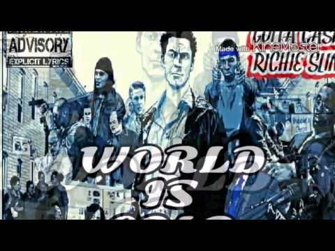 WORLD IS COLD [PROD. BY BLACK LIGHT MUSIC LLC] GUTTA CASH ft RICHIE SLIM