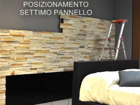 Boiserie pietra ricostruita retroletto youtube - Pietre decorative per muri interni ...