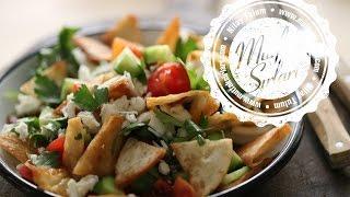 Fettuş Salatası Tarifi - Mutfak Sırları
